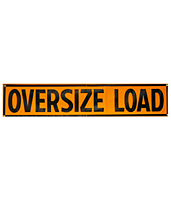 OVER SIZE LOAD