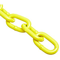 yellow steel chain